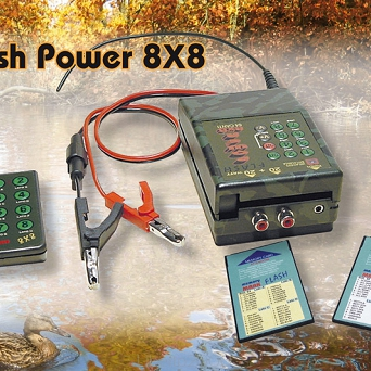 Riproduttore digitale FLASH POWER 8X8   20+20WATT